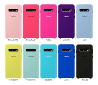 Funda Protector Silicone Case Samsung Glx S10/s10 Plus