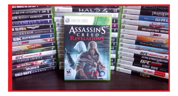 Assassins Creed Revelations Xbox 360 One Frete R$ 12