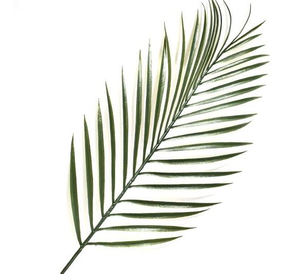 Palma Palmera Artificial Grande Decoración Tallo Largo Plant