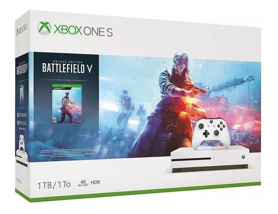 Xbox One S 1tb Nacional + Nf + Batlefield V + Game Pass