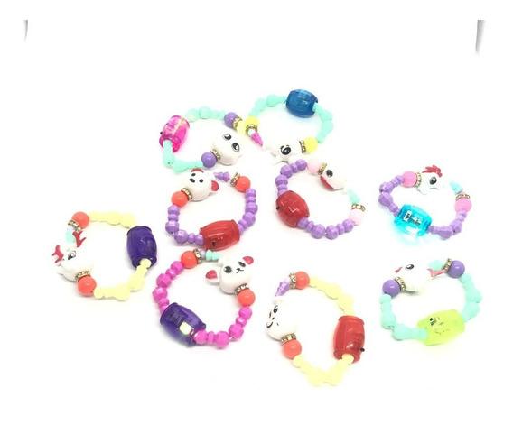 10 Un Pet Beads Bracelet Com Led Atacado Lembrancinha Festa