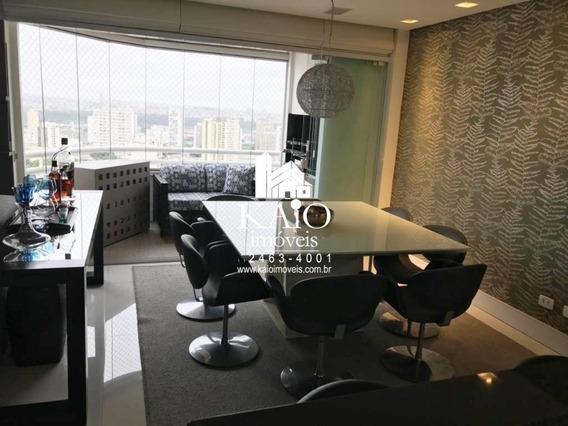 Apartamento Mobiliado De 95m² Com 3 Dormitórios 1 Suite 2 Vagas, Jardim Zaira - Ap1201