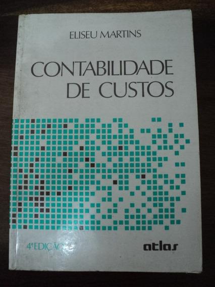 Livro Contabilidade De Custos - Eliseu Martins