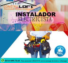 Electricista O Servicios De Electricidad