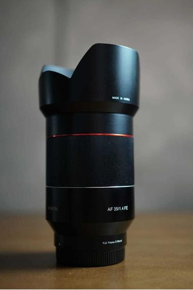 Kit Rokinon Af Emount - 14mm F2.8 + 35mm F1.4 + 50mm F1.4
