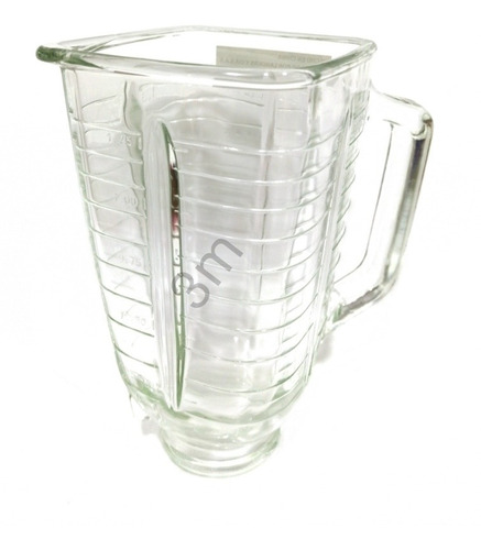 Vaso Para Licuadoras Oster Genérico En Vidrio Refractario