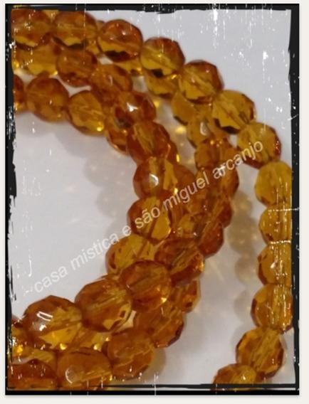 Guia De Cristal 147 Pedras Amarelo Ouro Oxum Osun