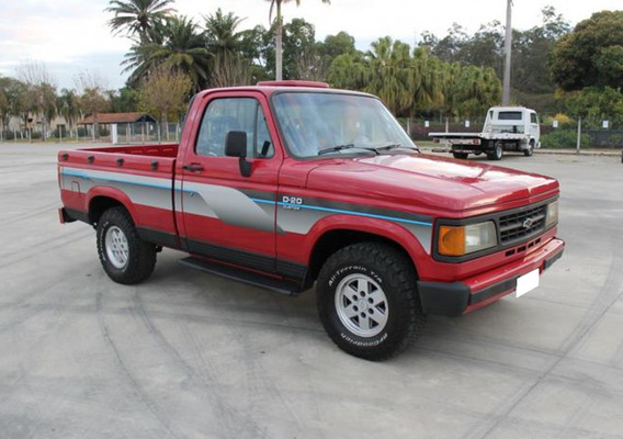Chevrolet D20 4.0 Custom S Cs 8v Diesel 2p Manual 1992 Ano