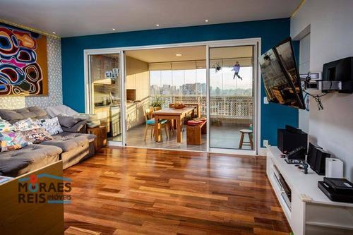Apartamento À Venda, 103 M² Por R$ 1.180.000,00 - Vila Cruzeiro - São Paulo/sp - Ap16147