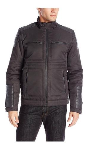 Imagen 1 de 2 de Casaca Calvin Klein Moto Jacket Talla M adidas Puma Nike Spy