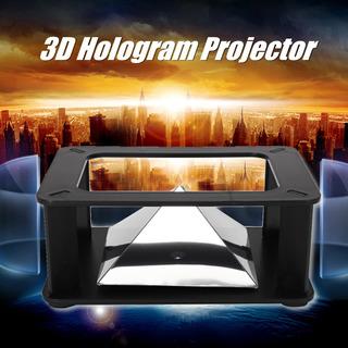 3d Universal Holograma Pirámide Video Box Proyector Proyecto
