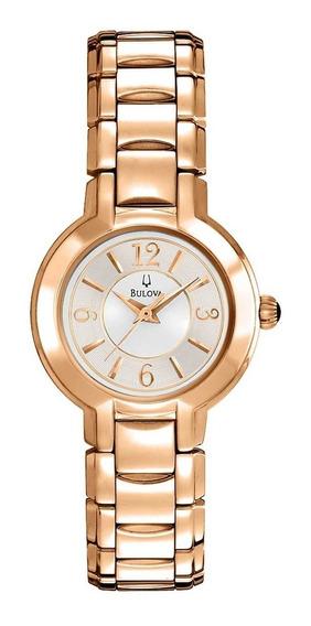 Relógio Bulova Feminino Social Wb27181h