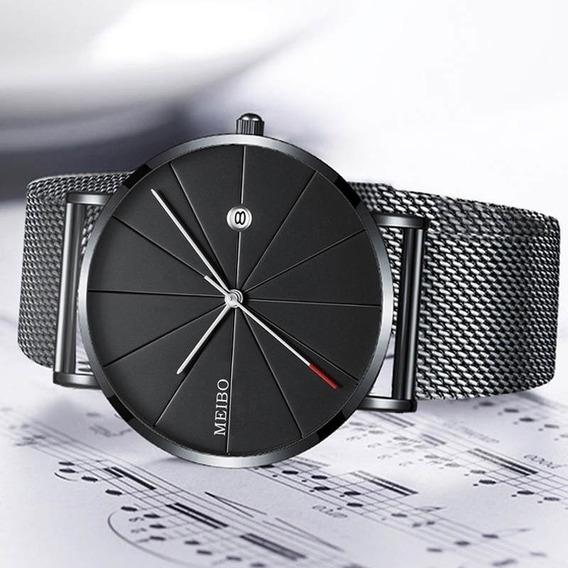 Relógio Slim Ultra Thin Clássico - Luxo
