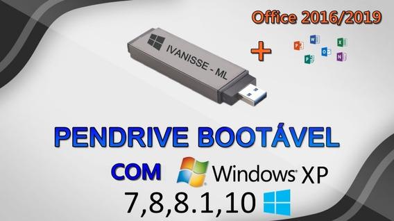 Iso Botável Para Pendrive / Formatação Win Xp/7/8/8.1/10