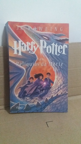 Livro Harry Potter E As Reliquias Da Morte