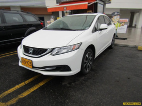 Honda Civic Ex L Sr At 1.8