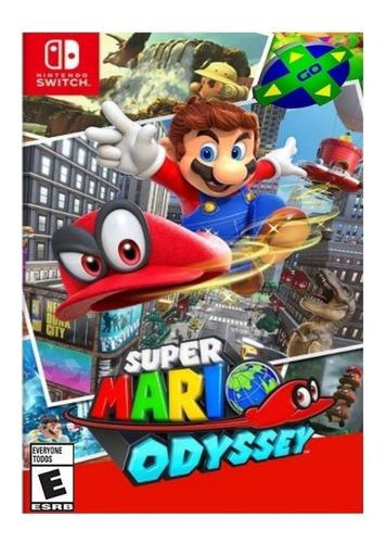 Imagen 1 de 4 de Super Mario Odyssey Standard Edition Nintendo Switch  Digital