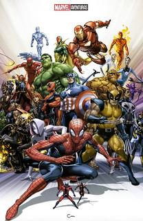 [español] Marvel Comics #1000 Portada Variante