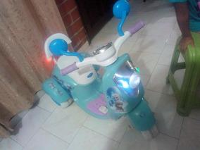 Moto Eléctrica Recargable Para Niña
