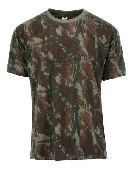 Camiseta Camuflada T-shirt Camuflada Camiseta Camisa Estampa