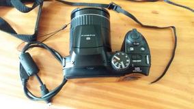 Camera Fujifilm Finepix S4800 16mp 30x/ft Preta +cartão 8gb