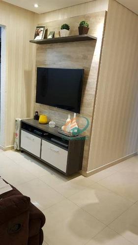 Imagem 1 de 30 de Apartamento Com 2 Dormitórios À Venda, 60 M² Por R$ 380.000,00 - Picanco - Guarulhos/sp - Ap0999