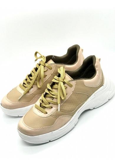 Oferta!!!! Zapatilla Dama Sneakers Mujer -liverpool