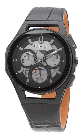 Relógio Bulova Masculino Curv Chronograph Quartz Original