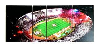 Cuadro River Plate Monumental Noche Futbol Millo Estadio