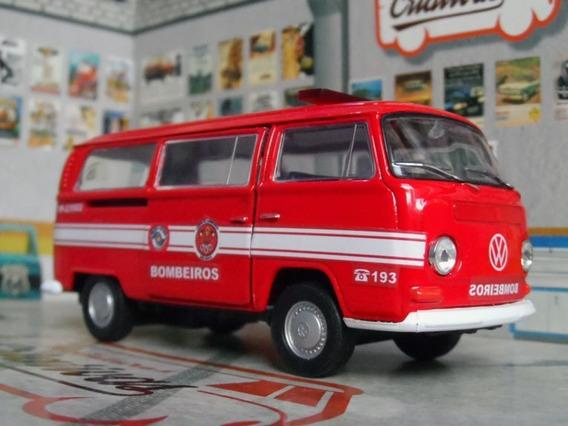 Miniatura Kombi T2 Bombeiros De São Paulo Pm Sp