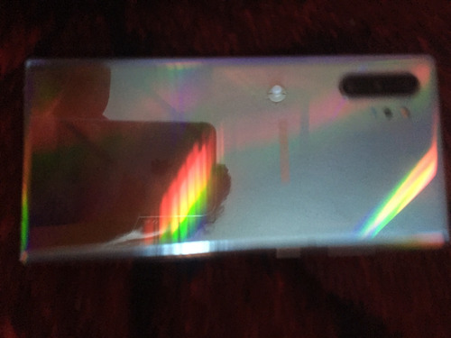 Imagen 1 de 10 de Samsung Galaxy Note10+ 256 Gb Aura Glow 12 Gb Ram ¡detalle!
