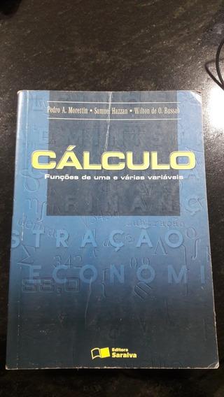 Livro Matemática Calculo Funções De Uma E Várias Variáveis