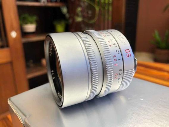 Leica Summilux 50mm F/1.4 Silver