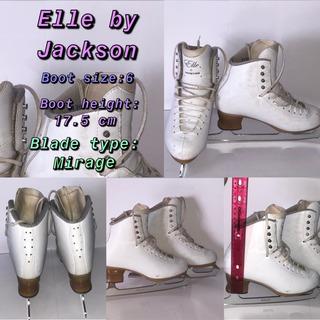 Patines De Hielo Jackson Elle Size 6 (e)