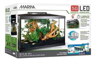 Kit Pecera Marina Deluxe 5g 19l Acuario