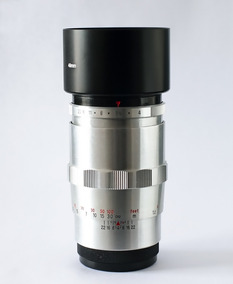Lente Carl Zeiss Sonnar 135mm + Adaptador Novo Sony Nex