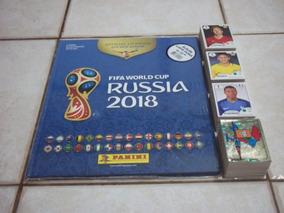 Album Copa 2018 - Figurinhas Soltas - Capa Dura - Completo