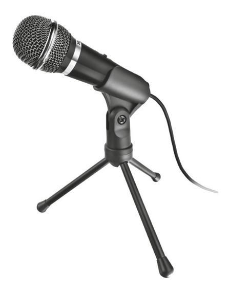 Reembalado Microfone Trust Starzz All Around 21671 Com Tripe