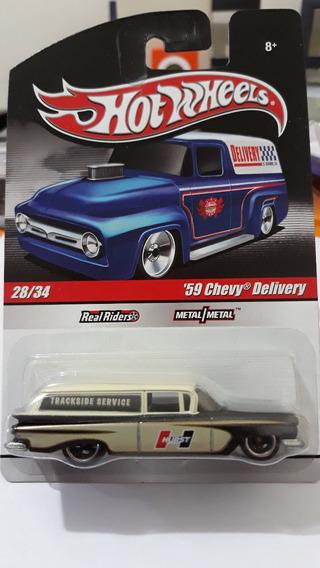 Hot Wheels 59 Chevy Delivery Wagon 2010 - Lacrado