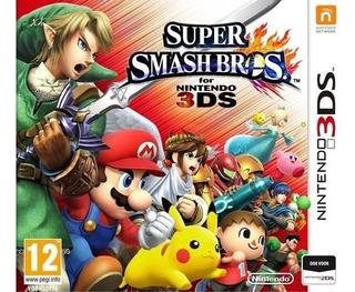 2ds / 3ds - Super Smash Bros - Juego Fisico (mercado Pago)