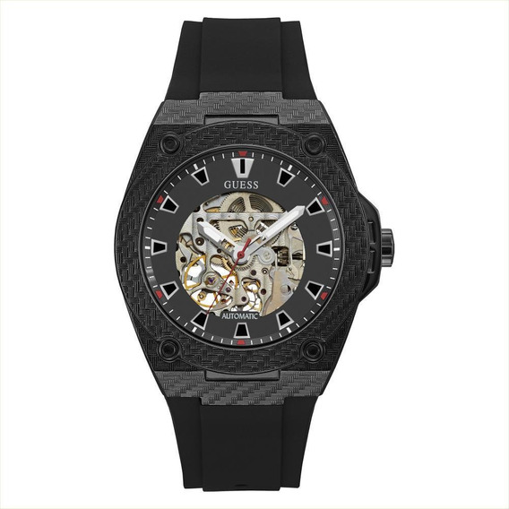 Relógio Masculino Guess Automático Esportivo Preto