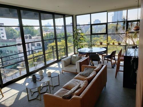 En Venta Lujoso Departamento Penthouse En Colonia Condesa