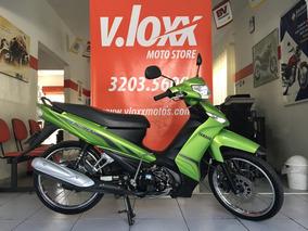 Yamaha Crypton 115 Verde 2013