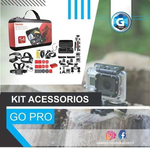 Kit Acessorios Gopro 7 Black Completo Go Pro Hero 6 5 4 3 53
