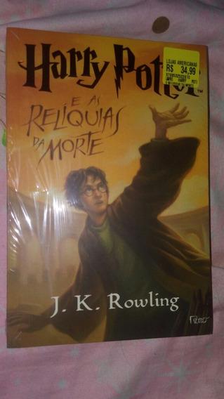 Livro Harry Potter E As Relíquias Da Marte