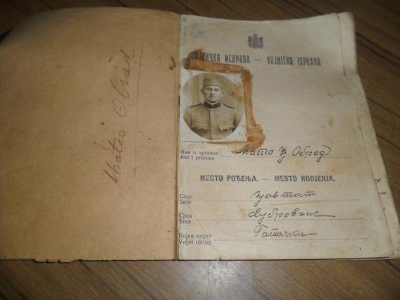 Antiguo¡ Documento¡ Militar¡ Ruso¡ 1927 Coleccion¡¡
