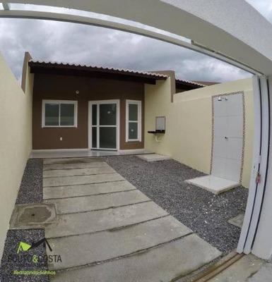 Casa Com 2 Dormitórios À Venda, 72 M² Por R$ 135.000 - Lameirão - Maranguape/ce - Ca0269