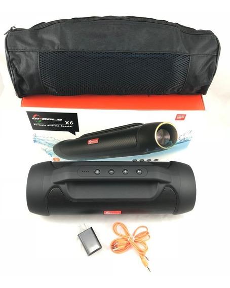 Caixa De Som Bluetooth/ Usb/ Wirelles/ Portátil - 20w