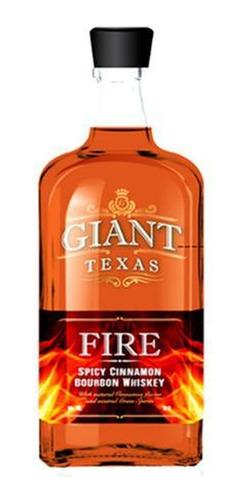 Whisky Giant Texas  Bourbon Fire 750 Ml