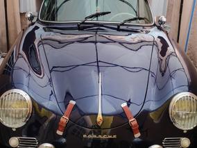 Porsche 356 Coupe, Sobre Plataforma Vw, Placas Clasico